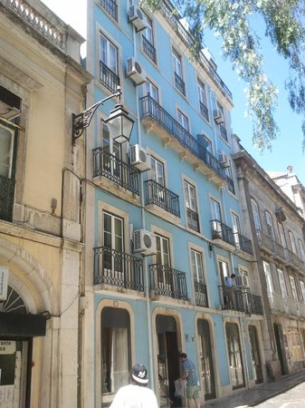 Pensao Residencial Portuense: Fachada de Pensao Portuense