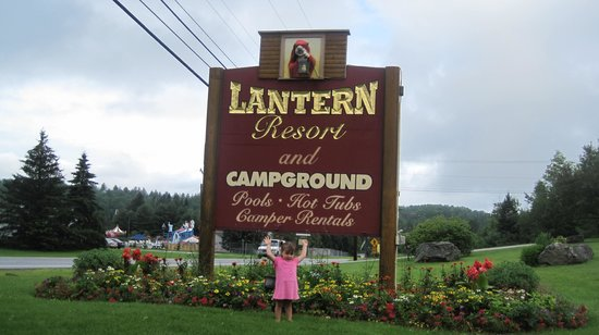 The Lantern Resort Motel and Campground: We made it !