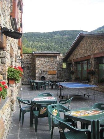 Hotel Segle XX: terraza hotel