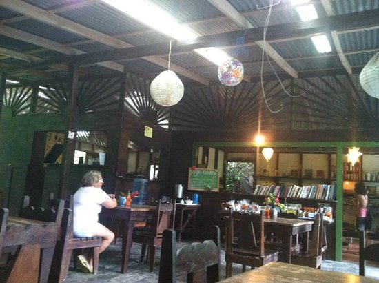 La Botanica Organica Cafe: Seating is very cozy and open