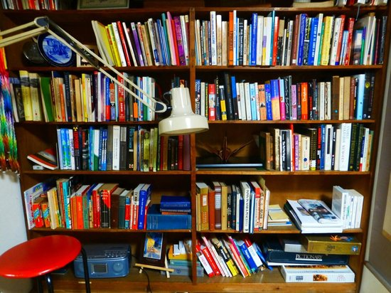 World Friendship Center: The WFC's eclectic collection of peace related books