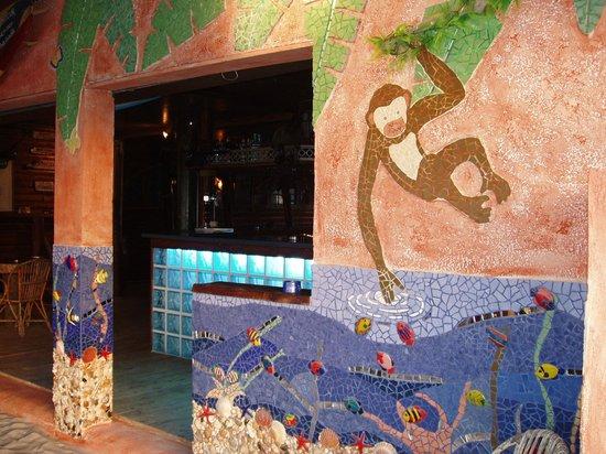 Corto Bar Restaurant: Superbe mosaique