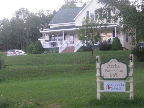 Azelia Farmhouse B & B: Tres beau site tranquille