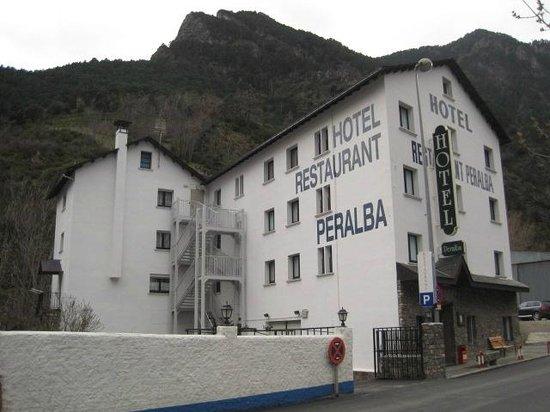 Hotel Peralba: Fachada hotel