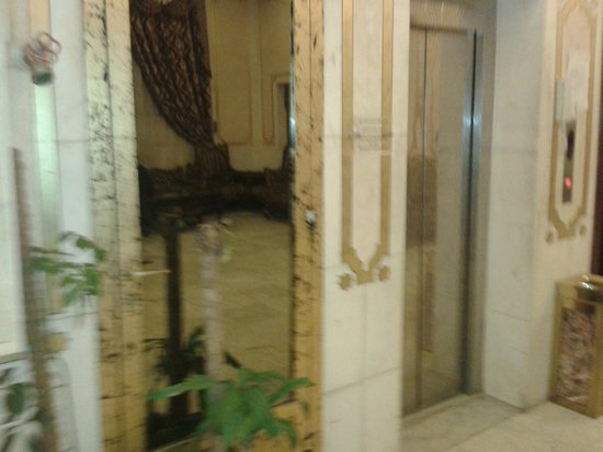 Jawhra White Palace Hotel : hotel reception area