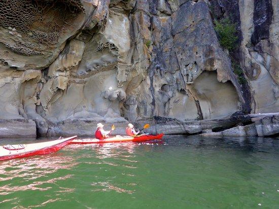Wildheart Adventures: Beautiful sandstone cliffs.