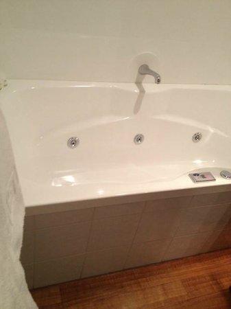 Settlers Motel: spa bath