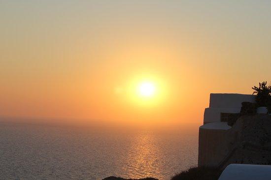 Esperas: evening sunset