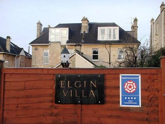 Elgin Villa: Back Entrance