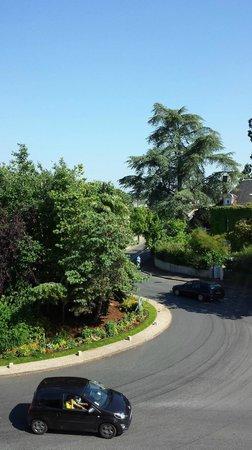 Logis Auberge de la Rose : View from front window