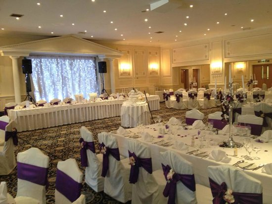 Bothwell Bridge Hotel: Wedding reception hall