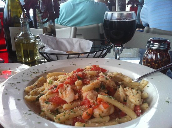 Frankie's Fellini Cafe: Shrimp and pasta