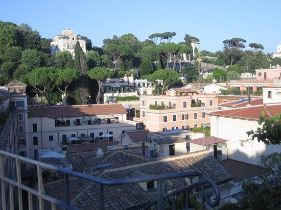 Piranesi Palazzo Nainer Hotel : rooftop view