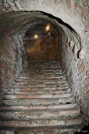 Museo Pietro Micca : la scala