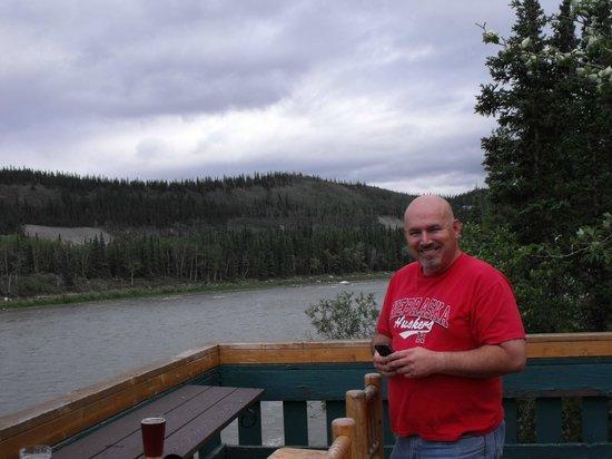 Denali Park Village : On the deck