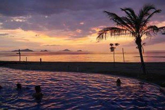 Luwansa Beach Resort: Perfect sunset