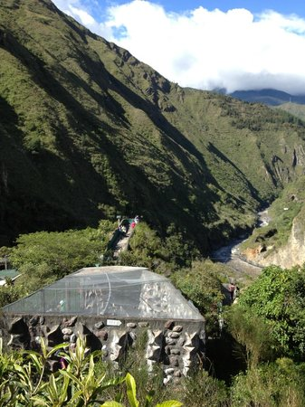Zoologico de San Martin: View from the zoo over the river