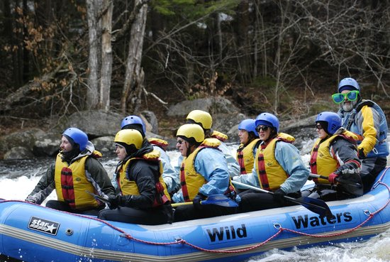 Wild Waters Outdoor Center: Levels 3 & 4 in April 2013