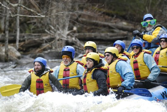 Wild Waters Outdoor Center: 3 Bed & breakfast Innkeepers take the challenge