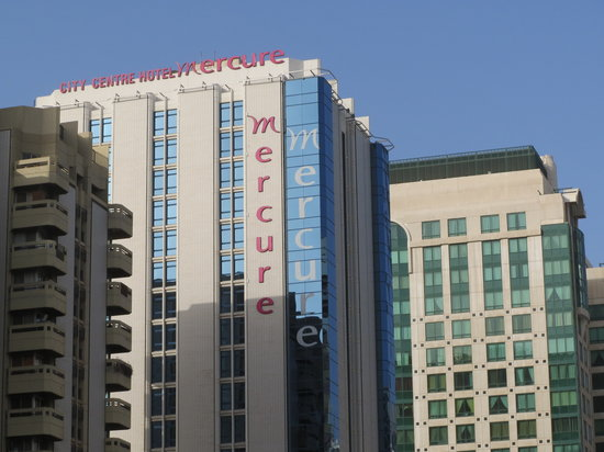 Mercure Abu Dhabi Centre Hotel: From the street
