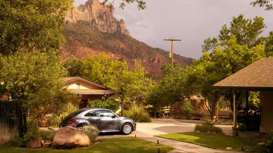 view from my front porch foto de red rock inn bed and. Black Bedroom Furniture Sets. Home Design Ideas