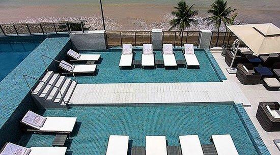 Cabo Branco Atlantico Hotel: Cobertura - Deck Molhado