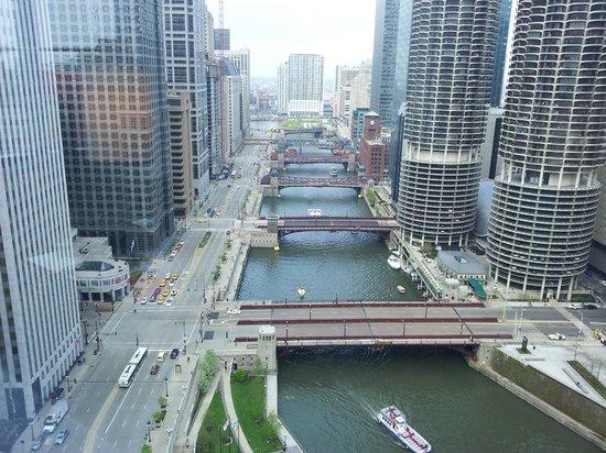 Wyndham Grand Chicago Riverfront: fantastic view