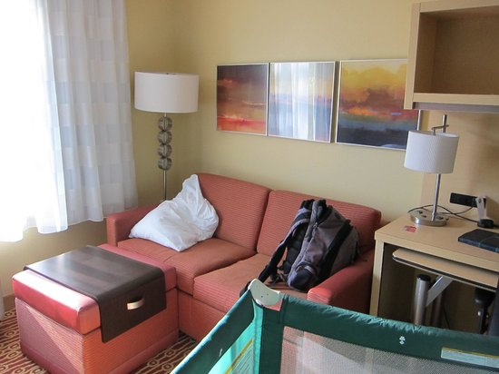 Towne Place Suites: Sofa bed area again