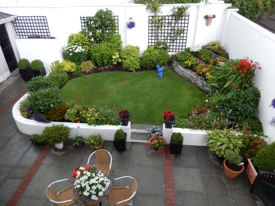 Petra House Bed and Breakfast: Petra House garden