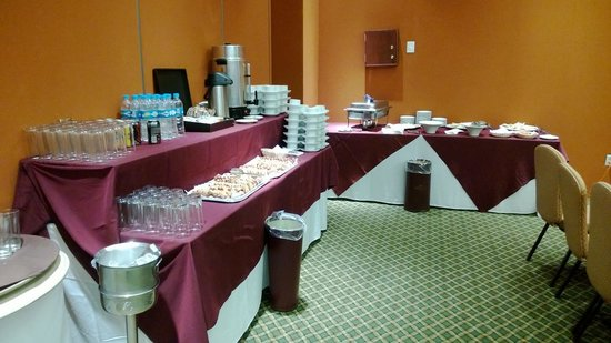 Holiday Inn Express Hotel & Suites at the WTC: Montaje del evento 2