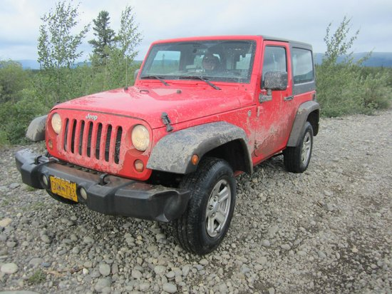 Denali Jeep Excursions: Example of the jeeps