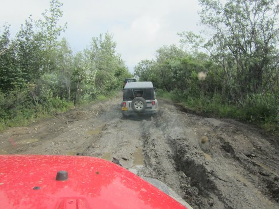 Denali Jeep Excursions: The mudding is for real