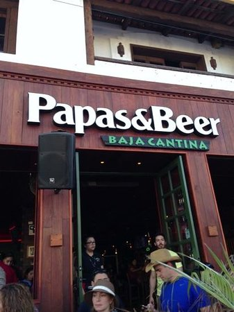 Sports Bar Papas&Beer: papas