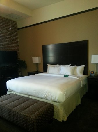 Homewood Suites by Hilton Indianapolis-Downtown: King Bed