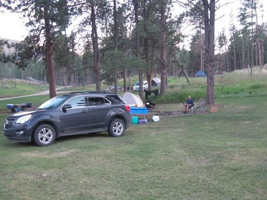 Horse Thief Campground and RV Resort: Campsite 95