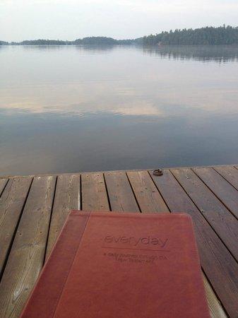 Morning Calm at Severn Lodge