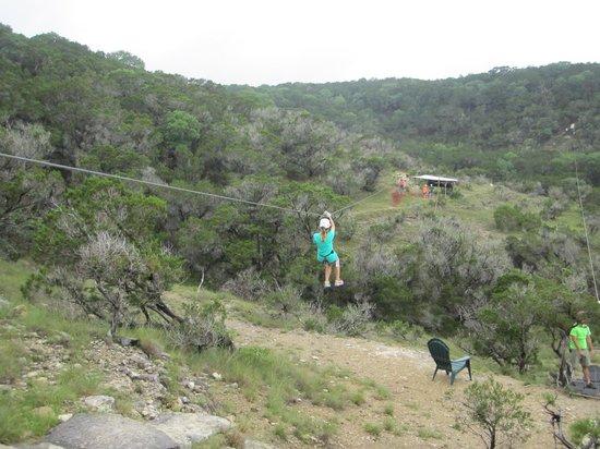 Wimberley Zipline Adventures: Zippidity do dah!