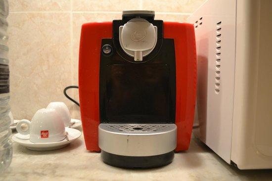 La Capilla: Cafeteira ''nespresso''