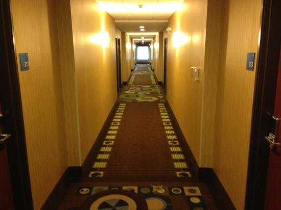 Holiday Inn Express and Suites Wytheville: hallway