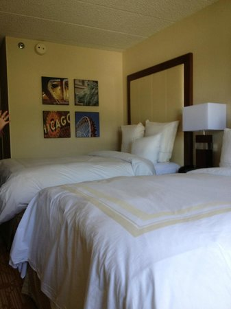 Chicago Marriott Lincolnshire Resort: Cozy soft and comfortable