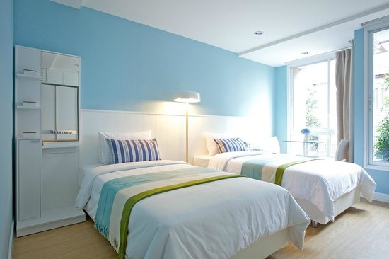 Cinnamon Residence: Twin Bed
