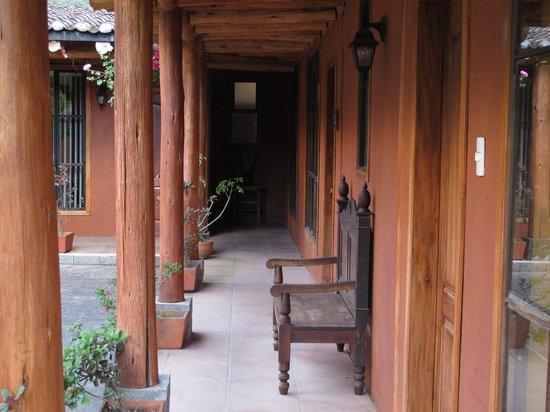 Hacienda Manteles: View facing bungalow