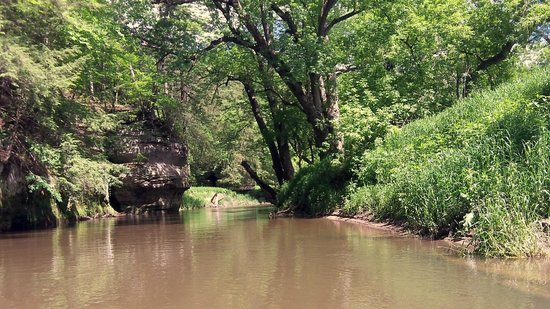 Ontario, WI: the relaxing side of the Kickapoo,..in early Summer