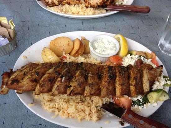 Dorian Greek House: Greek ribs