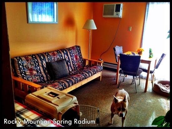 Rocky Mountain Springs Lodge and Restaurant: the room