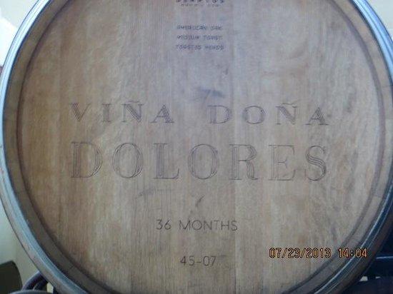 Finca Sala Vive by Freixenet Mexico: Barrels for the Viña Doña Dolores