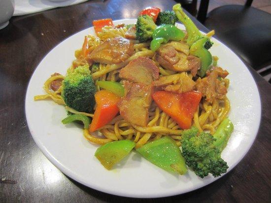 Sha Lin Noodle House: noodle dish
