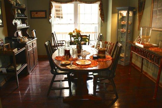 Long Mountain Lodge: Dining room area
