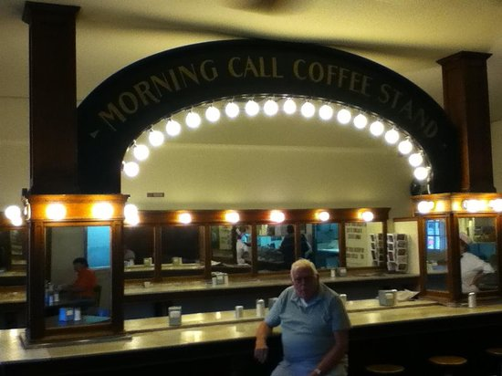 Morning Call: Dad at the counter