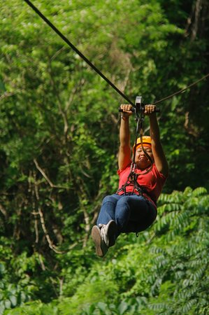 Karla (yo) feliz con la experiencia en Canopy River & Karla (yo) feliz con la experiencia en Canopy River - Picture of ...